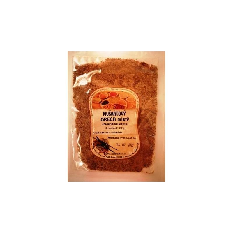Muškátový orech mletý 20g